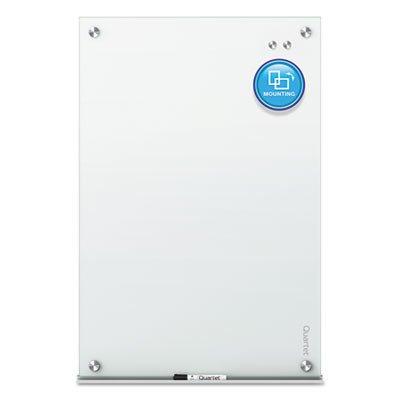 QRTG3624W - Infinity Magnetic Glass Marker Board by MOT