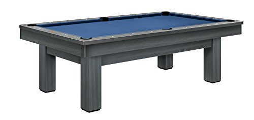 Olhausen Billiards 8 ft West End Pool Table - Maple Wood with Grey Finish - Includes Delivery & Installation, Cues, Balls and Accessories - Choice of Cloth Colors - Upgrades Available - Modern Series