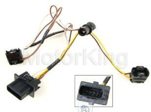 amazon com b360 2108203761 99 03 mercedes w210 headlight wire rh amazon com headlight wiring harness replacement headlight wiring harness 87 gti