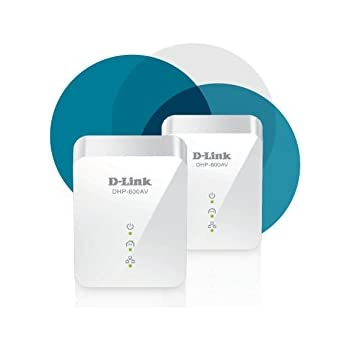 D-Link PowerLine 1000 Mbps, 1 Gigabit Port (DHP-601AV)