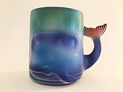 Handmade Ceramic Whale Mug