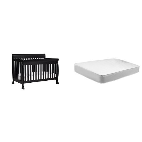 DaVinci Kalani 4-in-1 Convertible Crib and Twilight Crib Mattress