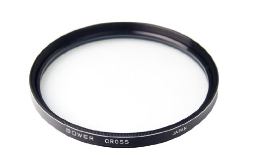 Bower FT52C6 Professional 52mm 6x Specialty Cross Filter for