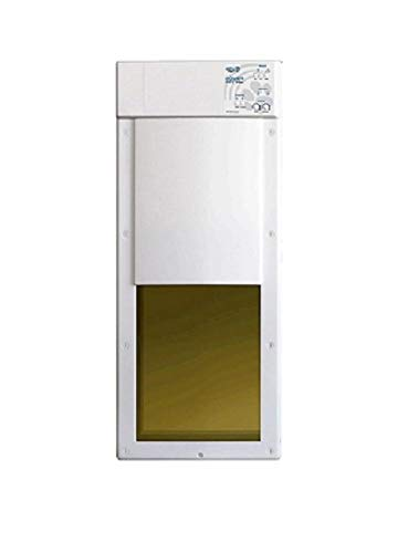 Power Pet Fully Automatic Pet Door for Wall Installation (Wall Installation, Large)