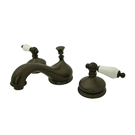 5-1//2 Nuvo ES1161PL Elements of Design Hot Springs 2-Handle 8 to 16 Widespread Lavatory Faucet with Brass Pop-Up Polished Chrome 5-1//2 Kingston Brass