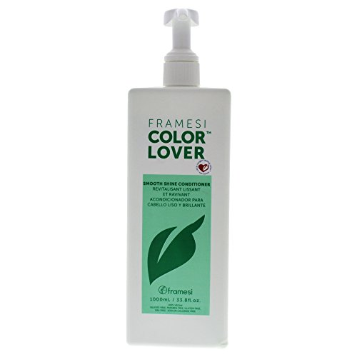 Framesi Color Lover Smooth Shine Conditioner, 33.8 Ounce (Shine Color Conditioner)