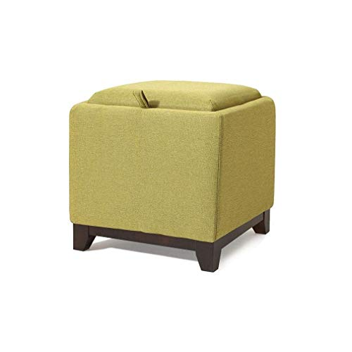 Amazon.com: QQXX Cloth Creative Storage Stool Square Small ...