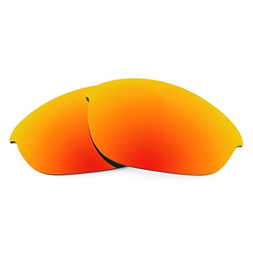 Revant Polarized Replacement Lenses for Oakley Half Jacket Fire Red - Lenses Oakley Red