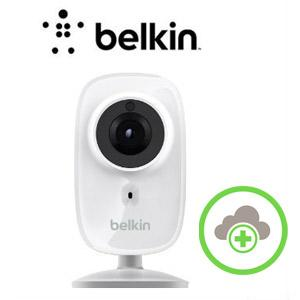 310Pz7Nf2NL - Belkin NetCam HD+ Wi-Fi enabled Camera works with WeMo, includes Night Vision, All Glass Wide Angle Lens, and Infrared Cut-off Filter