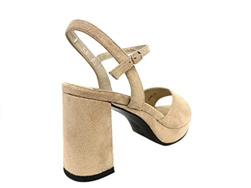 Cerimonia Sandali Donna Matrimonio Sandal Camoscio Sandalo Wedding Con Woman Vegan Heel Scarpe Plateau Ceremony S Elegante Sand Elegant High Tacco Alto Beige Particolare Cristalli Shoes CtIIXwOq