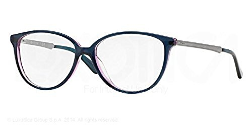 VOGUE Eyeglasses VO 2866 2267 Top Green/Transparent Violet - Eyewear Eyeglasses Vogue