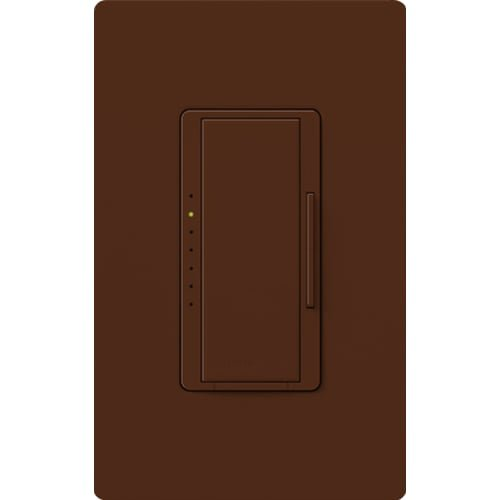 Lutron MRF2-6ND-120-SI, Single Pole 600 Watt Preset Incand Light Dimmer, Sienna by Lutron