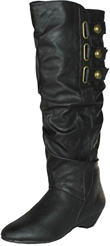 Madden Girl Womens Zulah Fashion Boots Zwart