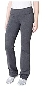 upc 096619278558 product image for Kirkland Signature Ladies' Pull On Active Pant, Dark Gray, Size S Tall | barcodespider.com