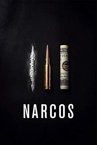 Postere Narcos Coke, Bullet and Dollar Text Poster Don Pablo
