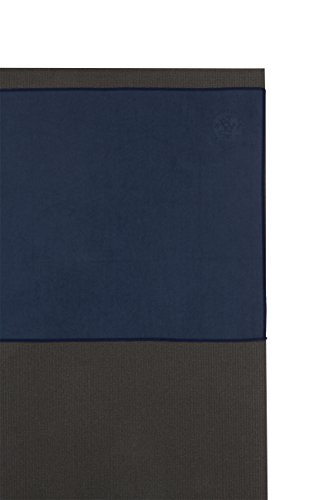 Manduka eQua Mat Towel in Midnight, 72""