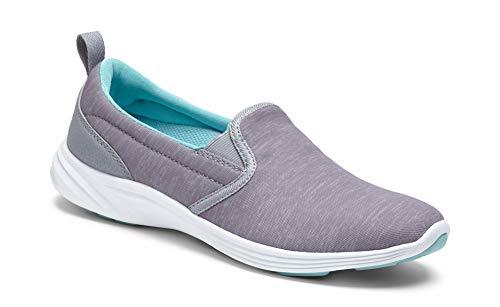 336KEA-SLV Vionic Women's Kea Slip-on Sneaker Silver 7.5 M 336KEA SLV M/B 075