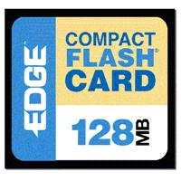 Edge Memory 128mb Edge Premium Compact Flash Card (cf) Pe179465 - Edge Premium Compactflash Card
