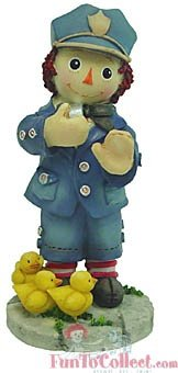 Raggedy Ann and Andy - You Make The World Safe For - Ann Raggedy Collectibles And Andy