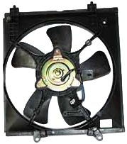 TYC 600510 Mitsubishi Lancer Replacement Radiator Cooling Fan Assembly (Mitsubishi Lancer Radiator compare prices)