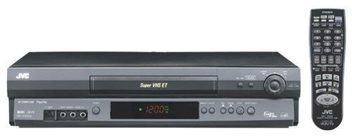 JVC HRS3902U VCR, Black