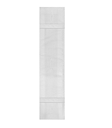 Total Tie Keep Necktie Accessory - 1 pack As Seen on Shark Tank ... (White)