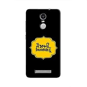 Cover it up Mein Apni Favourite Hoon Hard Case for Xiaomi Redmi 3S - Multi Color