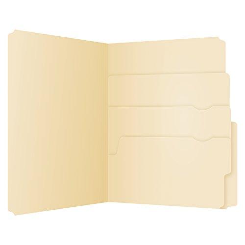 Manilla Files (Pendaflex Divide It Up File Folders, Letter Size, Manila, 24/Pack (10770))