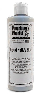 Poorboys World Liquid Natty's Blue 16 oz (473ml) Poorboy' s