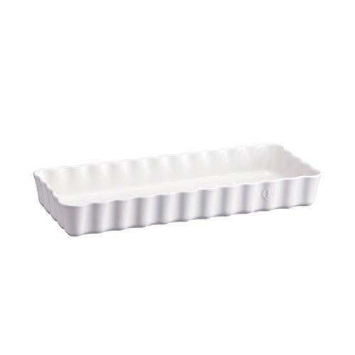 - Emile Henry Slim Tart Dish, 1.4 Quart, Flour