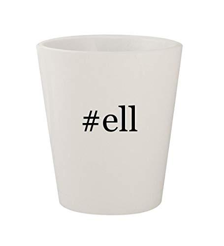 - #ell - Ceramic White Hashtag 1.5oz Shot Glass