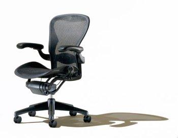 Herman-Miller-Classic-Aeron-Task-Chair-Highly-Adj-wLumbar-Pad-Tilit-Limiter-wSeat-Angle-Adj-Fully-Adj-Vinyl-Arms-Carpet-Casters