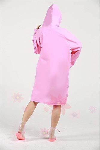 Sólido Mujeres Medio Estilo Impermeable Con Lluvia Eva Pantalones El Color Rosa Ambiente Amigable Chaqueta Exterior Fiesta Las De wPYaxA1XqA
