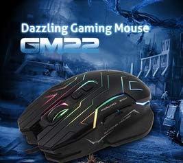 Gaming Mouse USB RGB Pro Ergonomic Design Macro DPI 200-4800 Waterproof Game Mousepad