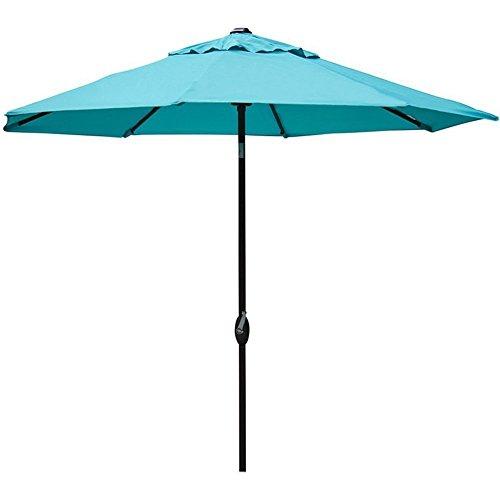 Abba Patio 9' Patio Umbrella Outdoor Table Market Umbrell...