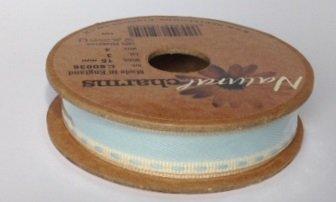 Berisfords Vintage Stitch: 4m x 15mm: Blue