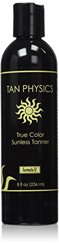 Tan Physics True Color Sunless Tanner 8 fl oz (Formula Brown Suntan)