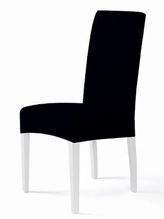 Amazon De Bi Elastische Stuhlhusse Stuhlbezug Spannbezug In Schwarz