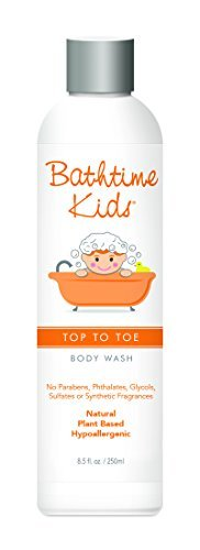 Bathtime Kids Top to Toe Body Wash (No Paraben, Vegan, 250ml) by Bathtime Kids by Bathtime Baby