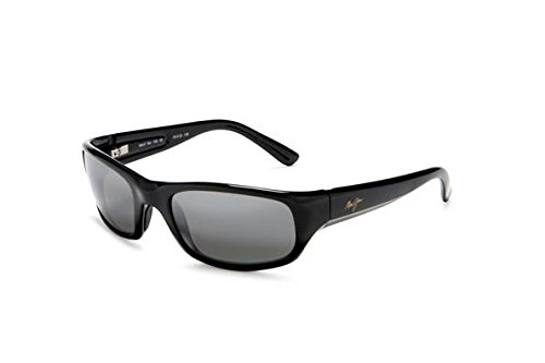 Maui Jim Stingray 103-02 | Sunglasses, Gloss Black, with with Patented PolarizedPlus2 Lens ()