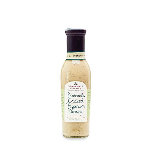 Creamy Parmesan Dressing (Stonewall Kitchen Buttermilk Cracked Peppercorn Dressing, 11oz)