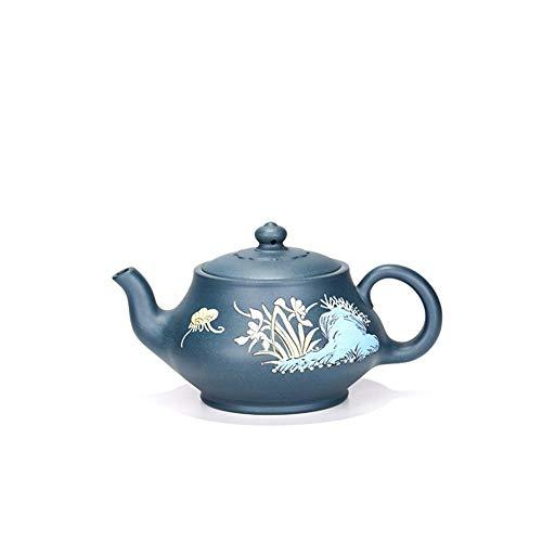 azure blue teapot set - 6