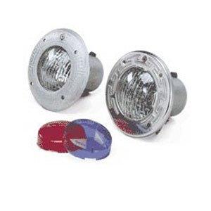 Pentair 77181100 AquaLight Halogen Quartz Light with Stainless Steel Face Ring and 15-Feet Cord, 12-Volt, 75-Watt