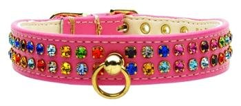 Mirage Pet Products No.76 Dog Collar, 18-Inch, Pink