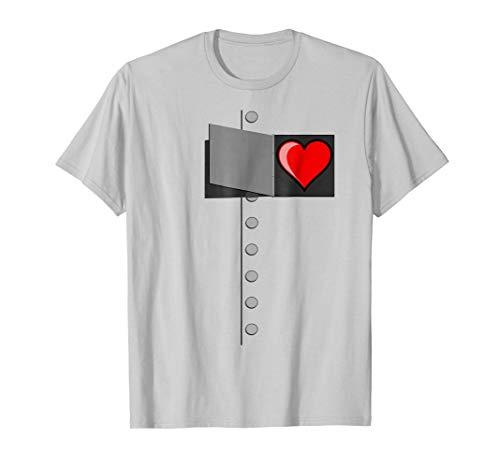 Tin Man Heart T-Shirt-OZ Tinman Halloween Costume Tshirt]()