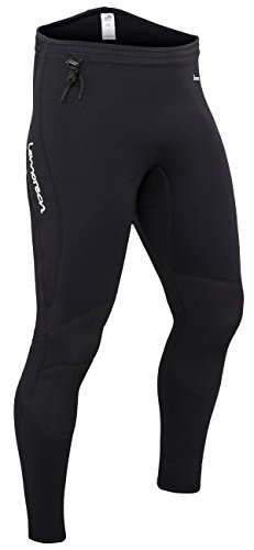 Lemorecn Wetsuits Pants 3mm Neoprene Winter Swimming Canoeing Pants(1031M) ()