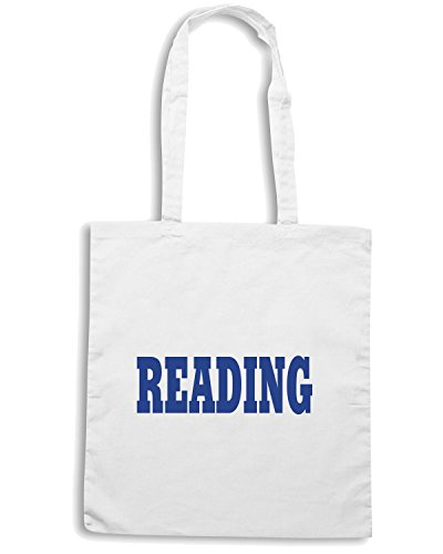 T-Shirtshock - Bolsa para la compra WC0725 READING Blanco