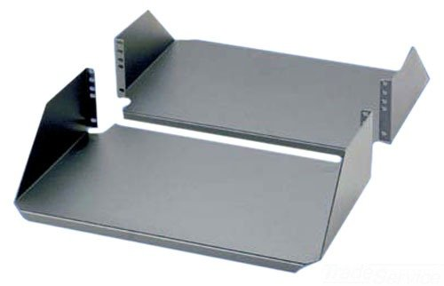 Panduit SRM19CM3 Cantilevered Aluminum Rack Mount Shelf, Black