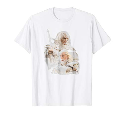 Lord of the Rings Gandalf the White T Shirt