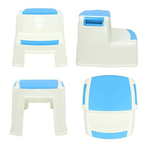 /étape tabourets pour enfant Tabouret pour toilettes dapprentissage de la propret/é antid/érapant Grip doux pour la s/écurit/é de salle de bain Potty Tabouret et Marchepied de cuisine